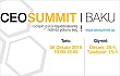 CEO Summit Baku 2015