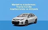 Toyota Corolla Azərbaycanda və dünyada