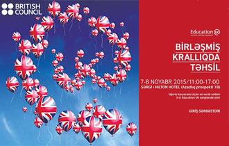 5th 'Education UK' exhibition in Baku