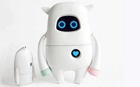 Bu robot hamının dostu olacaq