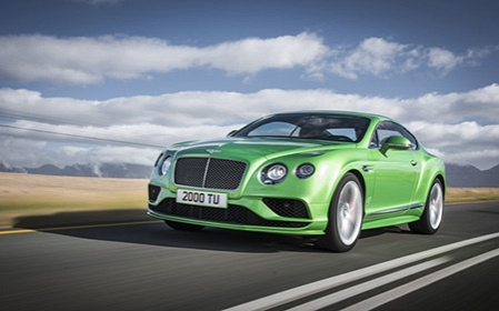 Bentley updates the Continental GT for 2016