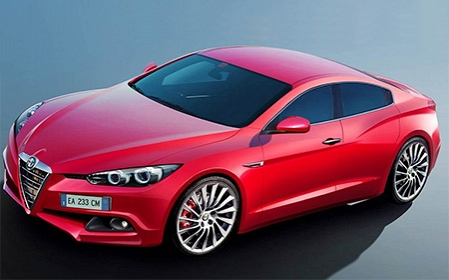 First picture of New Alfa Romeo Giulia
